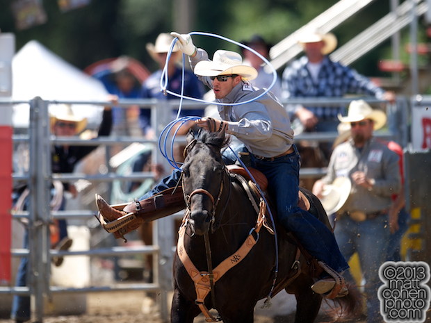 2013 NFR Team Roping (Header) Qualifier #10 - Drew Horner of Plano, TX