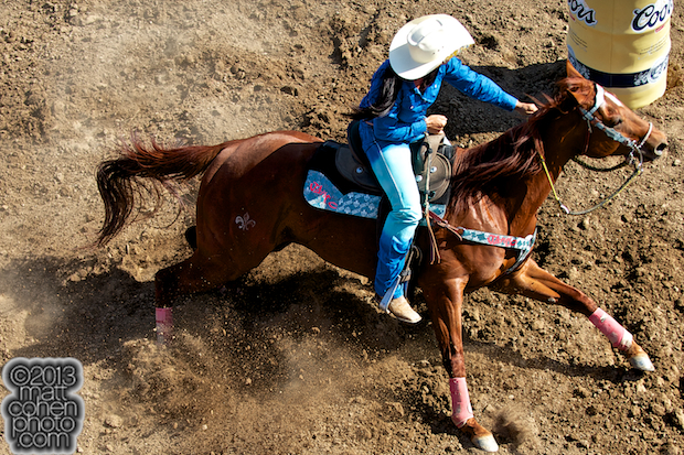 2013 NFR Barrel Racing Qualifier #5 - Fallon Taylor of Whitesboro, TX