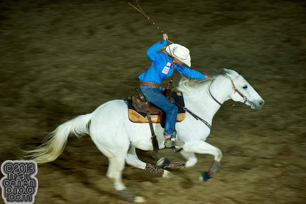2013 NFR Barrel Racing Qualifier #8 - Kaley Bass of Davenport, FL