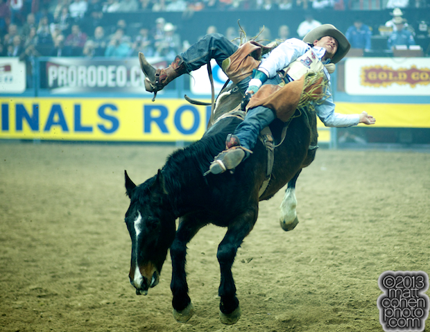 2013 NFR Bareback Stock - Mile Away of Kesler Rodeo