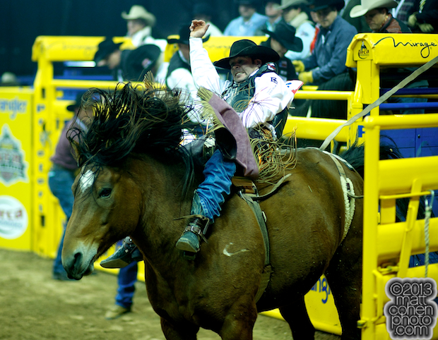 2013 NFR Bareback Stock - Scarlett's Web of Classic Pro Rodeo