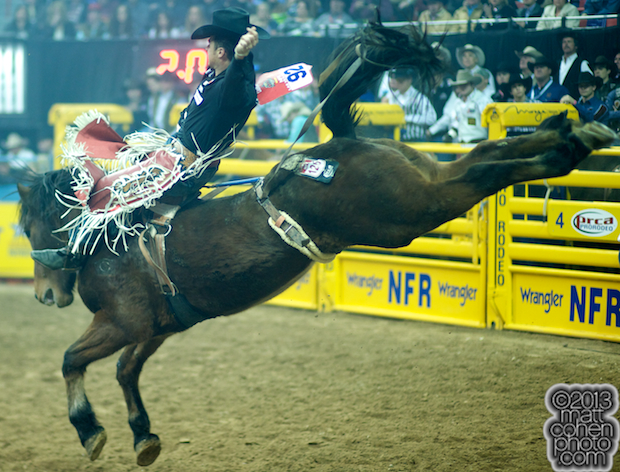 2013 NFR Bareback Stock - Dirty Jacket of Carr Pro Rodeo
