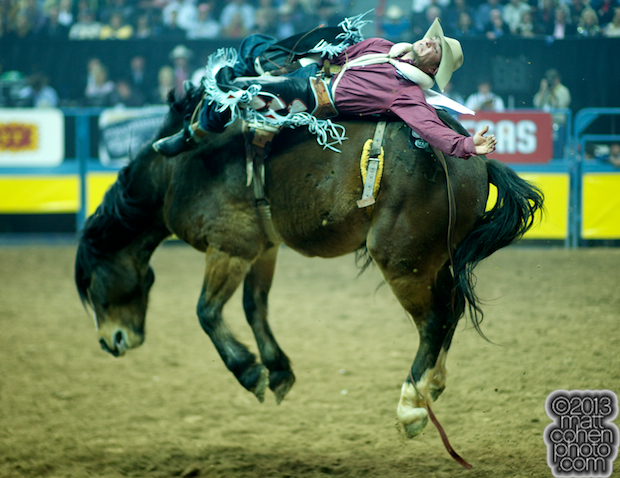 2013 NFR Bareback Stock - Delta Ship of Frontier Rodeo Co.