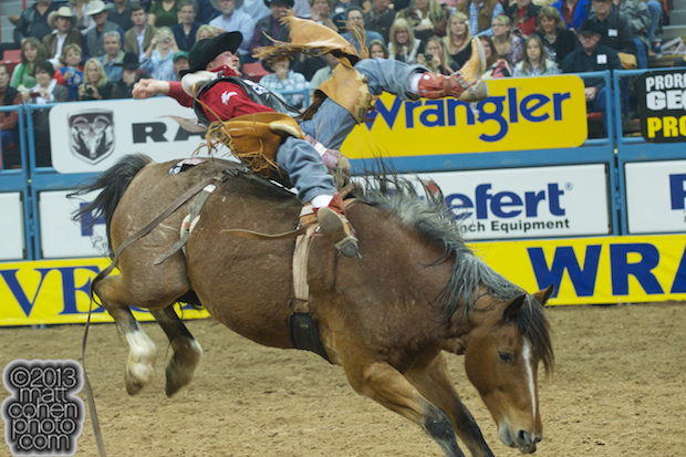 2013 NFR Bareback Stock - Riverboat Annie of Carr Pro Rodeo