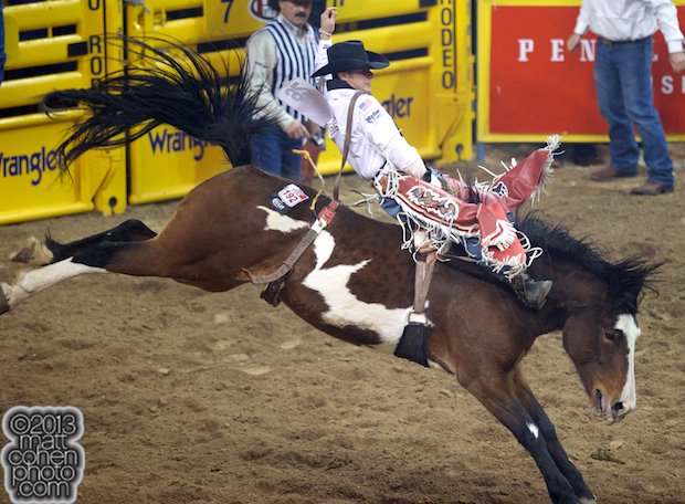2013 NFR Bareback Stock - Hard Times of Southwick's Rocky Mountain