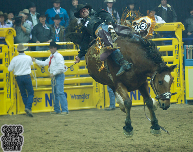 2013 NFR Bareback Stock - Rd Mercer of Stace Smith Pro Rodeos