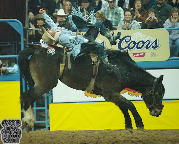 2013 NFR Bareback Stock - Night Bells of Lancaster & Pickett