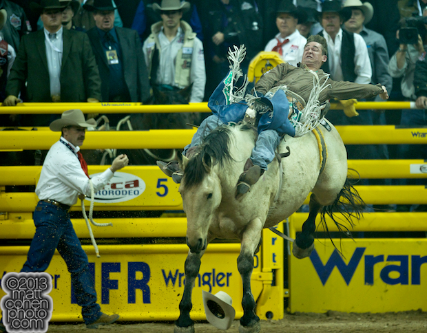 2013 NFR Bareback Stock - Assault of Rafter G Rodeo