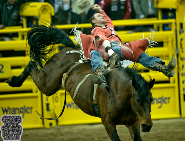 2013 NFR Bareback Stock - Wonderland of Beutler & Son Rodeo