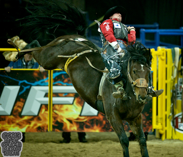 2013 NFR Bareback Stock - Full Baggage of Frontier Rodeo Company