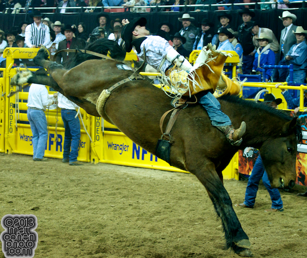 2013 NFR Bareback Stock - Hollywood Hills of Beutler & Son Rodeo