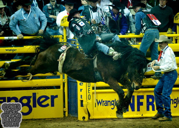 2013 NFR Bareback Stock - Big Prize of Powder River Rodeo