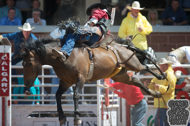 2013 NFR Bareback Stock - My Mistake of Harvey Northcott Rodeo
