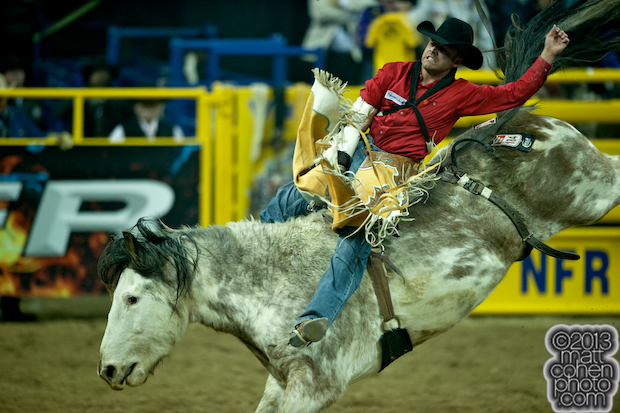 2013 NFR Bareback Stock - Ols Tubs Ross River of Outlawbuckers Rodeo Co