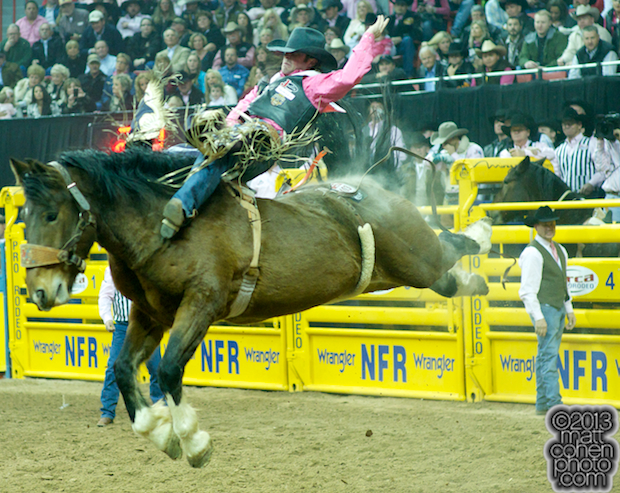 2013 NFR Bareback Stock - PTSD Power Play of Andrews Rodeo