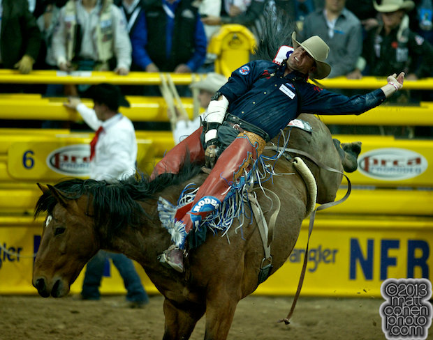 2013 NFR Bareback Stock - Cool Water of Andrews Rodeo