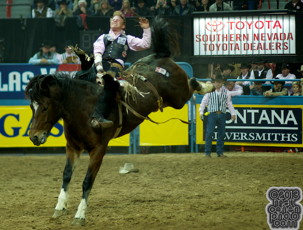 2013 NFR Bareback Stock - Top FLight of Lancaster & Pickett