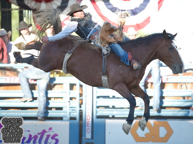 2013 NFR Bareback Stock - Cajun Queen of Big Bend Rodeo
