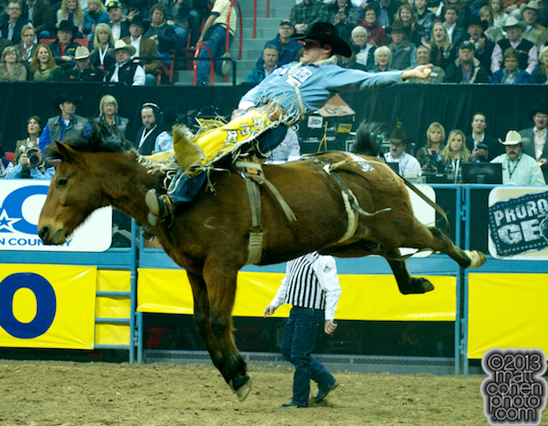 2013 NFR Bareback Stock - Nutrena's Wise Guy of Classic Pro Rodeo