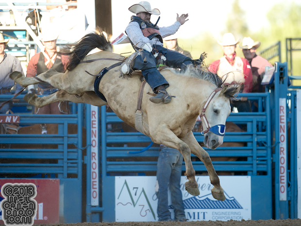 2013 NFR Bareback Stock - Comanchero of Flying U Rodeo Co