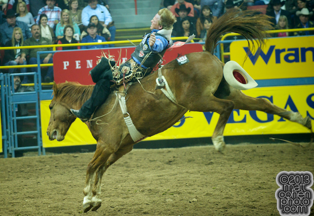 2013 NFR Bareback Stock - Ragin Angel of Classic Pro Rodeo