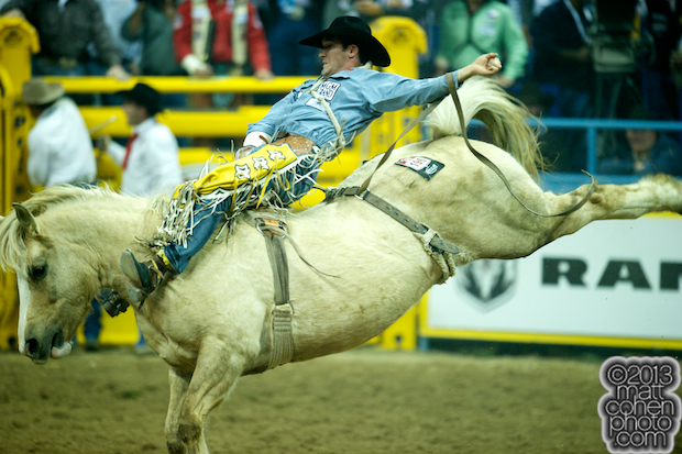 2013 NFR Bareback Stock - Peaches & Cream of Three Hills Rodeo