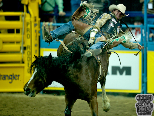 2013 NFR Bareback Stock - Delta Glamorous of Lancaster & Pickett