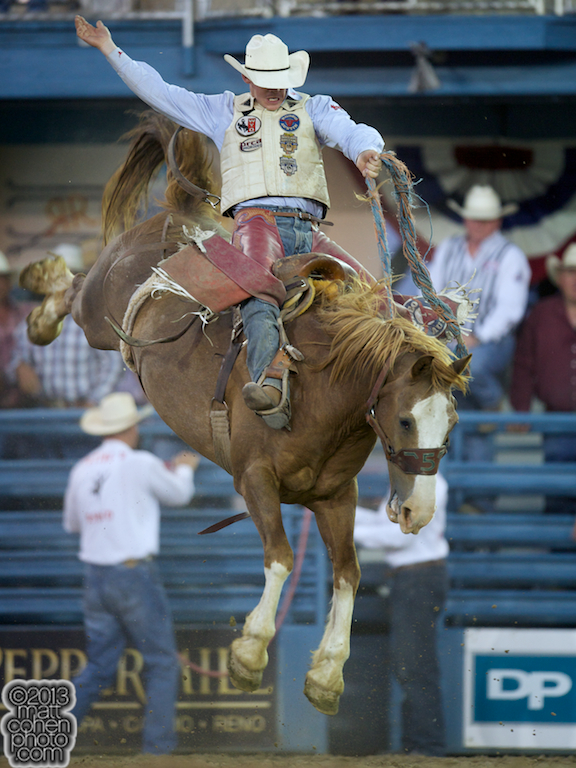 2013 NFR Saddle Bronc Stock - Sundance of Flying Five Rodeo