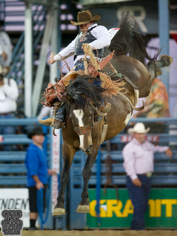 2013 NFR Saddle Bronc Stock - Kool Toddy of Big Bend Rodeo
