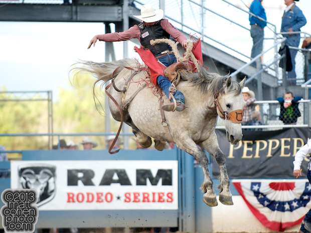 2013 NFR Saddle Bronc Stock - Numero Uno of Corey & Lange Rodeo