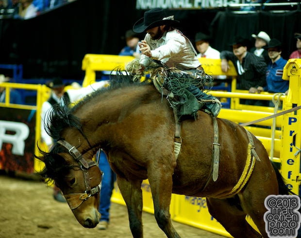 2013 NFR Saddle Bronc Stock - Medicine Woman of Frontier Rodeo Co.