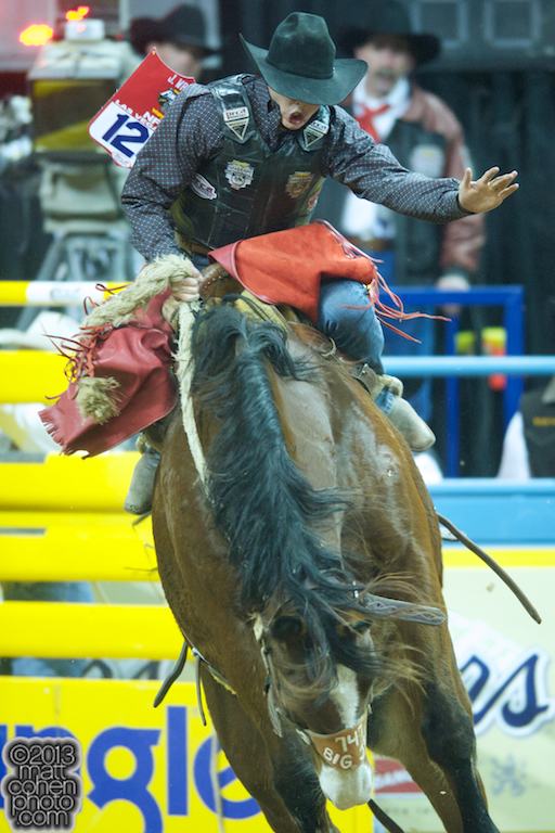 2013 NFR Saddle Bronc Stock - Big Jet of Three Hills Rodeo