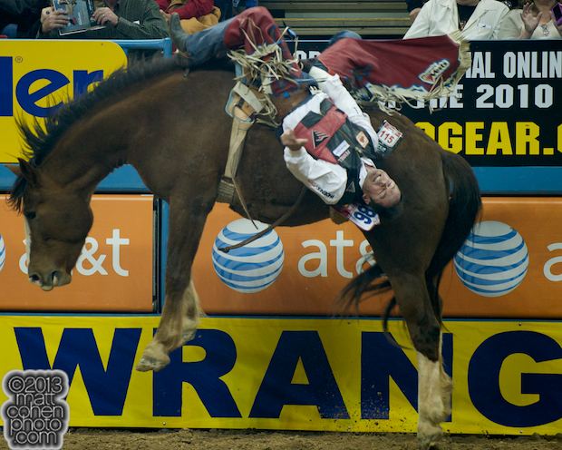 2013 NFR Saddle Bronc Stock - Killer Bee of Beutler & Son Rodeo