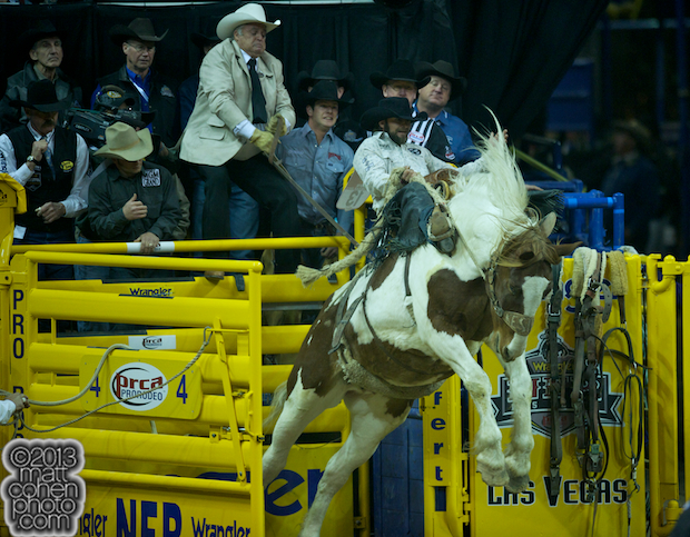 2013 NFR Saddle Bronc Stock - Bonus Alley of Kesler Championship Rodeo