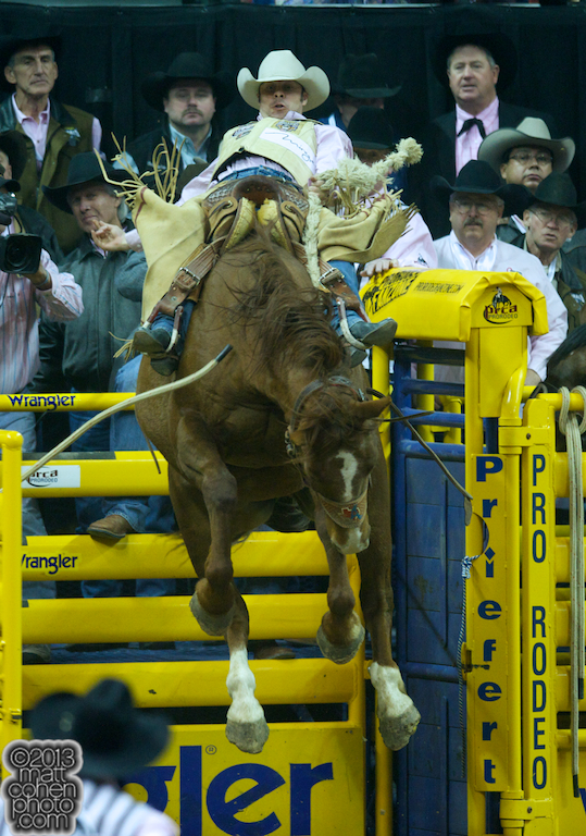 2013 NFR Saddle Bronc Stock - Lock & Load of Andrews Rodeo
