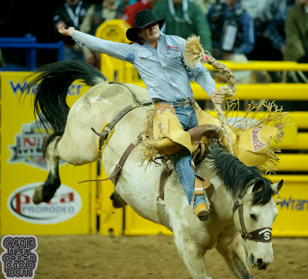 2013 NFR Saddle Bronc Stock - Pretty Boy of Stace Smith Pro Rodeos