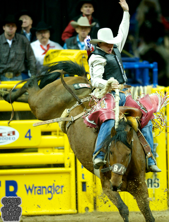2013 NFR Saddle Bronc Stock - Cimmaron Jack of Beutler & Son Rodeo