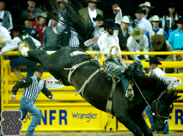 2013 NFR Saddle Bronc Stock - Ned Pepper of Three Hills Rodeo