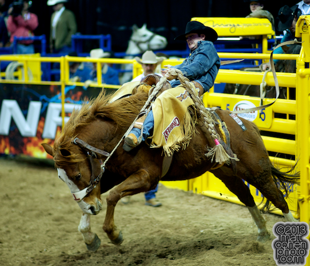 2013 NFR Saddle Bronc Stock - Son of Sadie of Bar T Rodeo Inc.