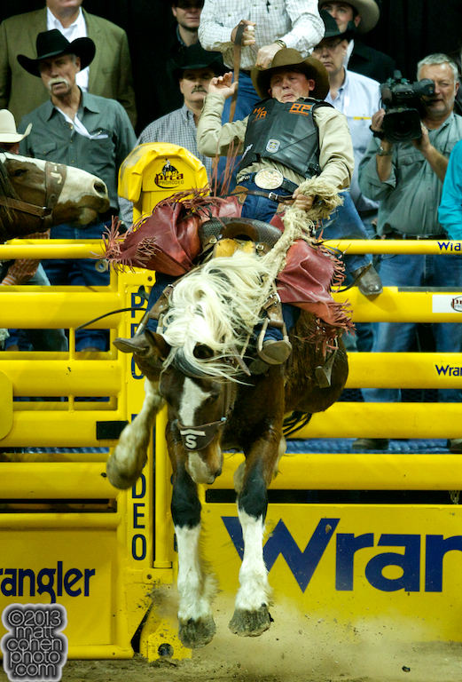 2013 NFR Saddle Bronc Stock - Hickock of Stace Smith Pro Rodeos