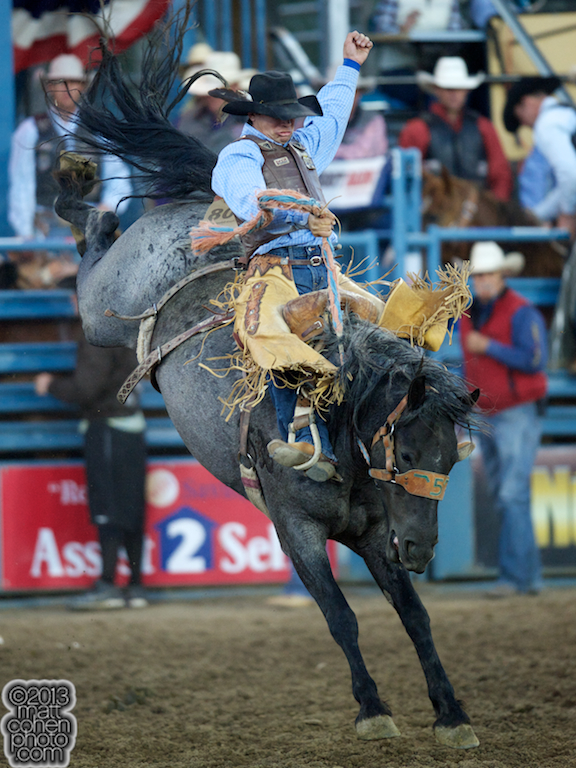 2013 NFR Saddle Bronc Stock - Spring Planting of Flying Five Rodeo