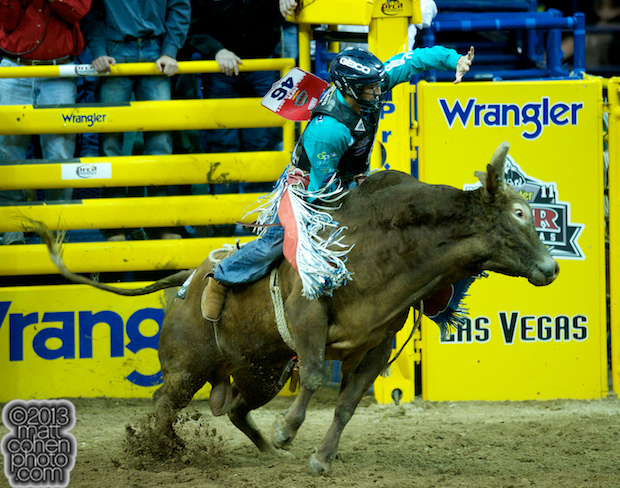 2013 NFR Bull Riding Stock - Red River of Mo Betta Rodeo