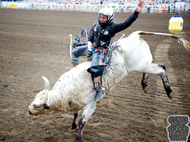 2013 NFR Bull Riding Stock - Johnny Ramone of Rafter G Rodeo