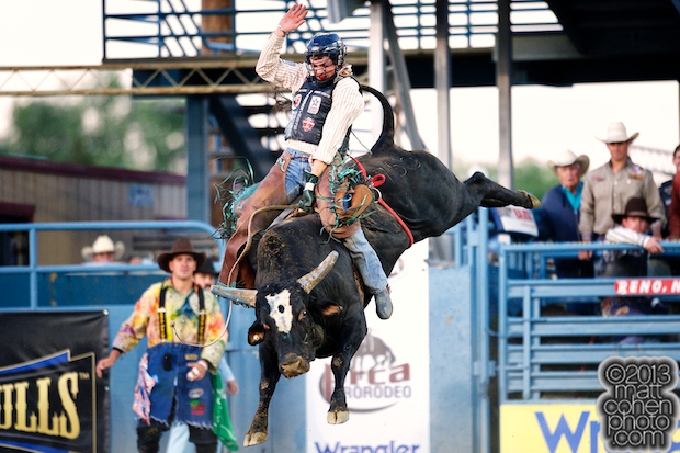 2013 NFR Bull Riding Stock - Wildly Legit of Growney Bros Rodeo