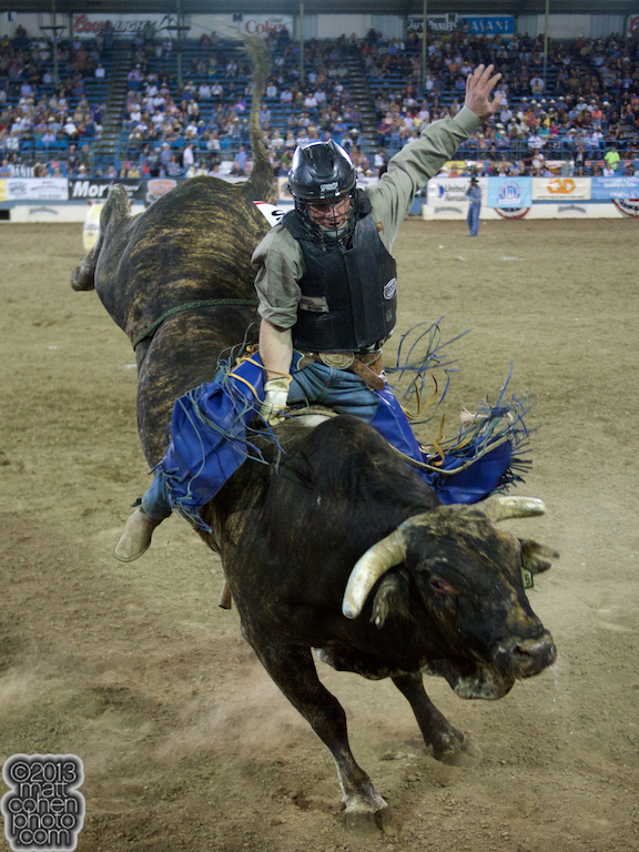 2013 NFR Bull Riding Stock - Glory Days of Growney Bros Rodeo