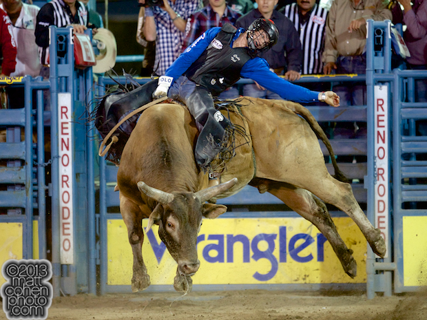 2013 NFR Bull Riding Stock - Wish This of Growney Bros Rodeo