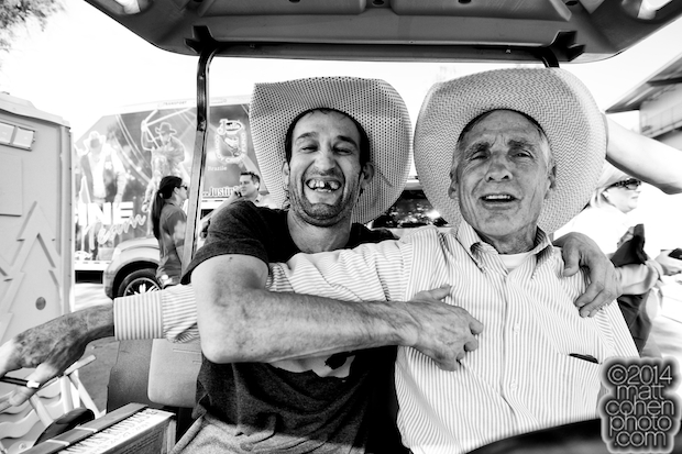Ben Jones & John Growney - 2014 Clovis Rodeo