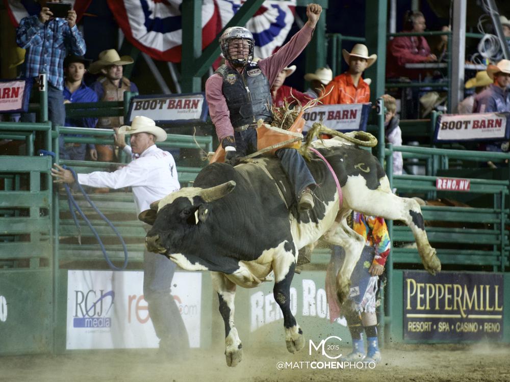 #14 Reid Barker of Comfort, TX