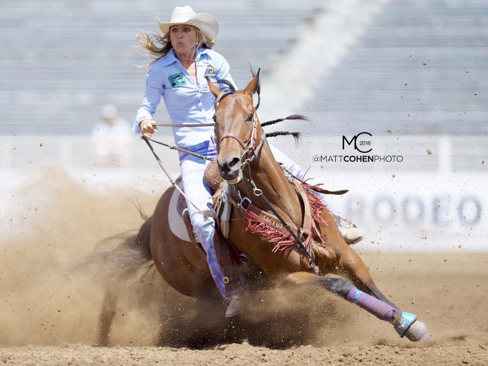 2016 WNFR: Wrangler National Finals Rodeo Qualifiers: Barrel Racing #5 Kimmie Wall