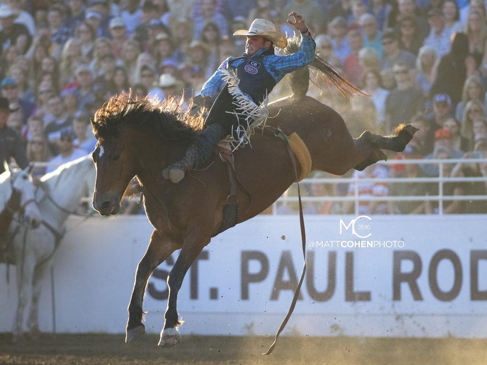 2016 WNFR: Wrangler National Finals Rodeo Qualifiers: Bareback #13 Richmond Champion